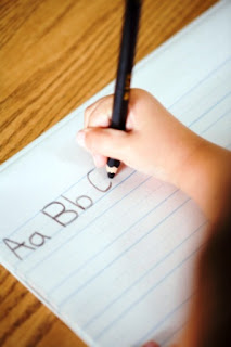 kids books, handwriting books, abcd books