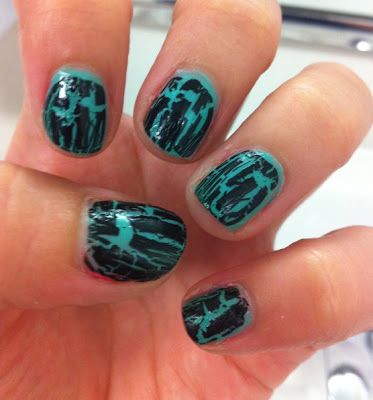 crackle nail art trend for easy nail designs  make up