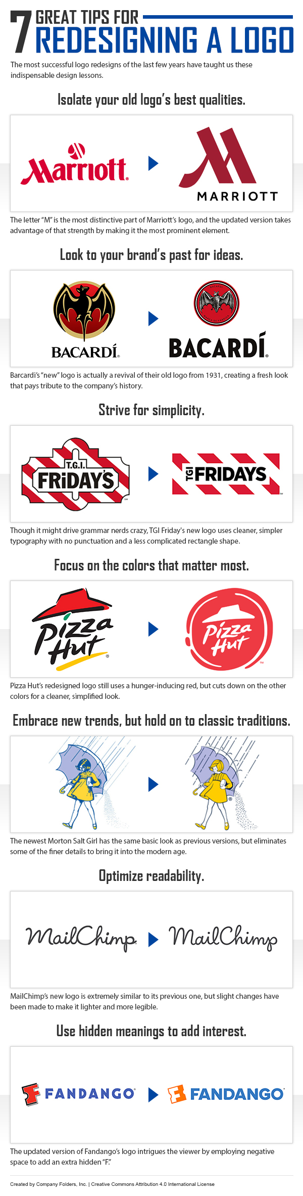 7 Quick Tips for Redesigning Your Company Logo