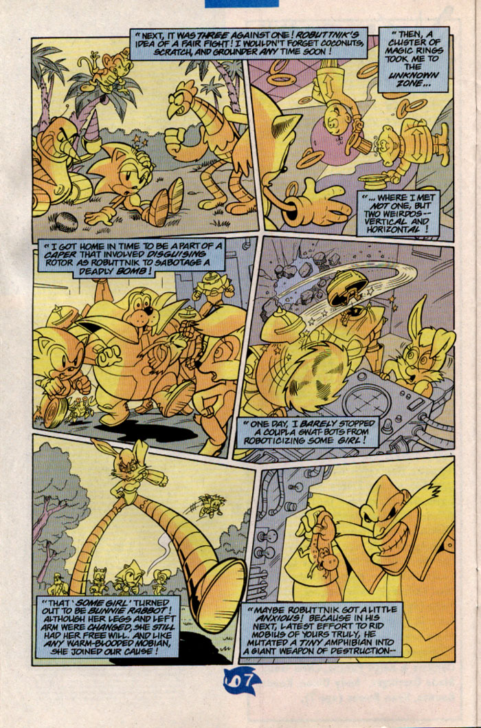 Read online Sonic The Hedgehog comic -  Issue #57 - 9