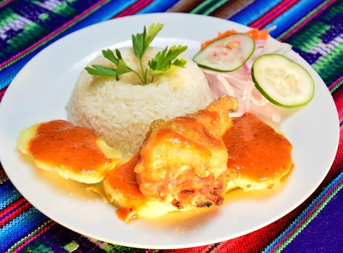 Picante de Pollo a la Huaracina