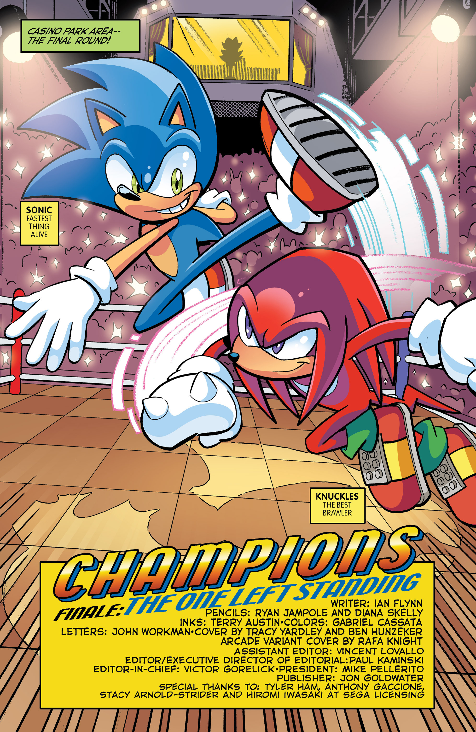 Read online Sonic The Hedgehog comic -  Issue #271 - 3