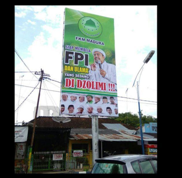 Diumumkan Dengan Reklame Besar, Ribuan Umat Islam Madura akan Gelar Aksi Bela Ulama!