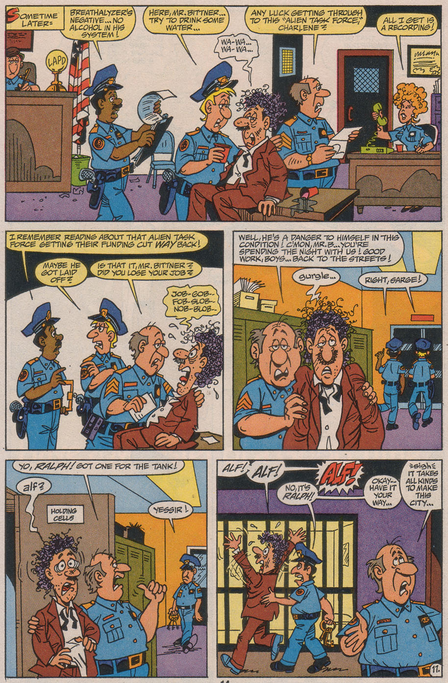 Read online ALF comic -  Issue #49 - 16