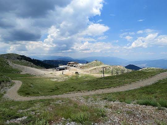 Fterolaka Ski Resort (1850 m n.p.m.).
