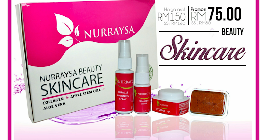 NURRAYSA SET SKINCARE TRIAL PACK