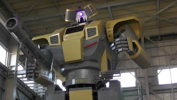 بالفيديو: مهندس ياباني يبتكر روبوت عملاق