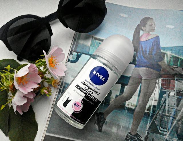 "Nivea Anti-perspirant Invisible Black&White Clear Дезодорант-антиперспирант ""Невидимая защита для черного и белого"""