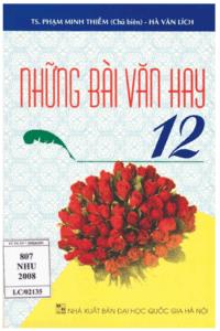 Những Bài Văn Hay 12 - Phạm Minh Thiềm