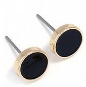 Round Alloy Stud Earrings, Zaful
