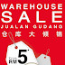 Polo Haus Warehouse Sale from RM5 : 31 Ogos until 4 Sept 2016