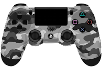 urban camouflage PlayStation controller