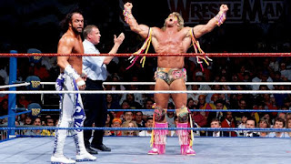 The Ultimate Warrior Vs Randy Savage Wrestlemania 7