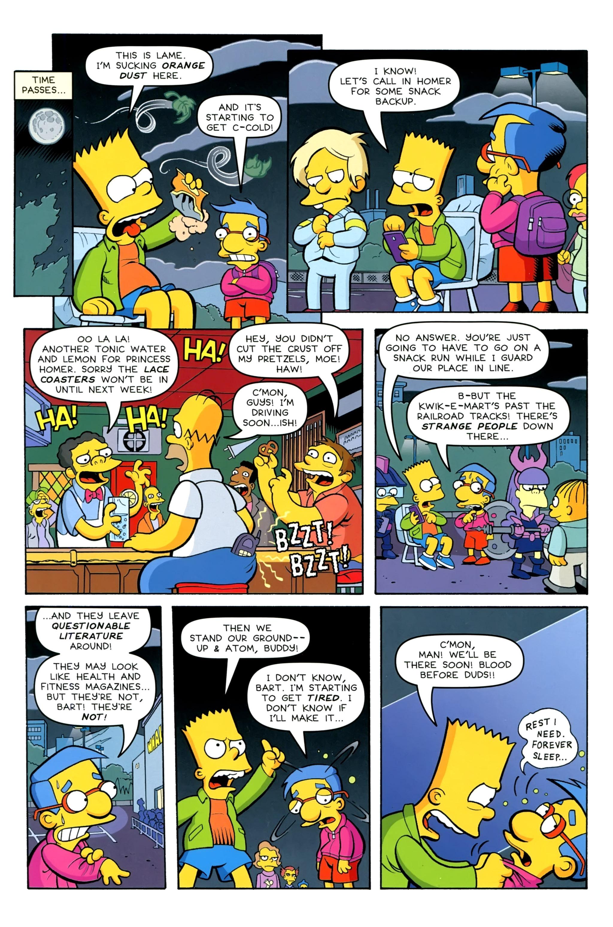 Read online Simpsons Comics comic -  Issue #230 - 5
