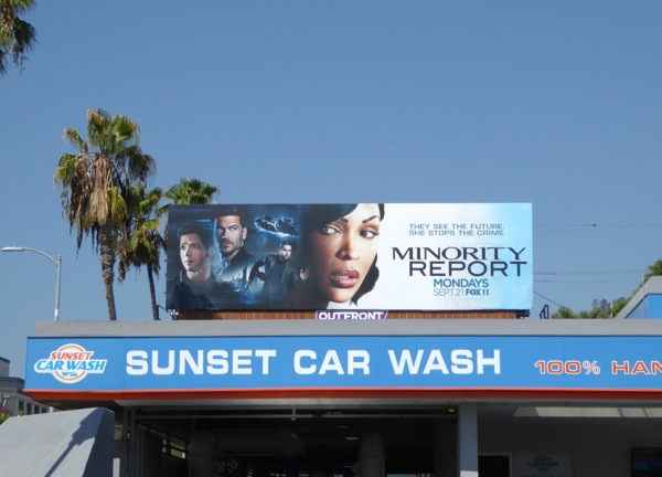 Minority Report TV spinoff billboard