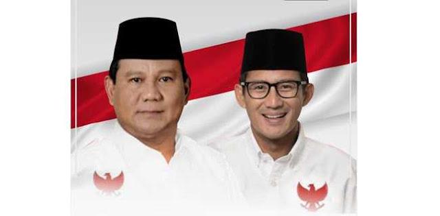 Para Pimpinan Partai Akan Jadi Pengarah Prabowo-Sandi