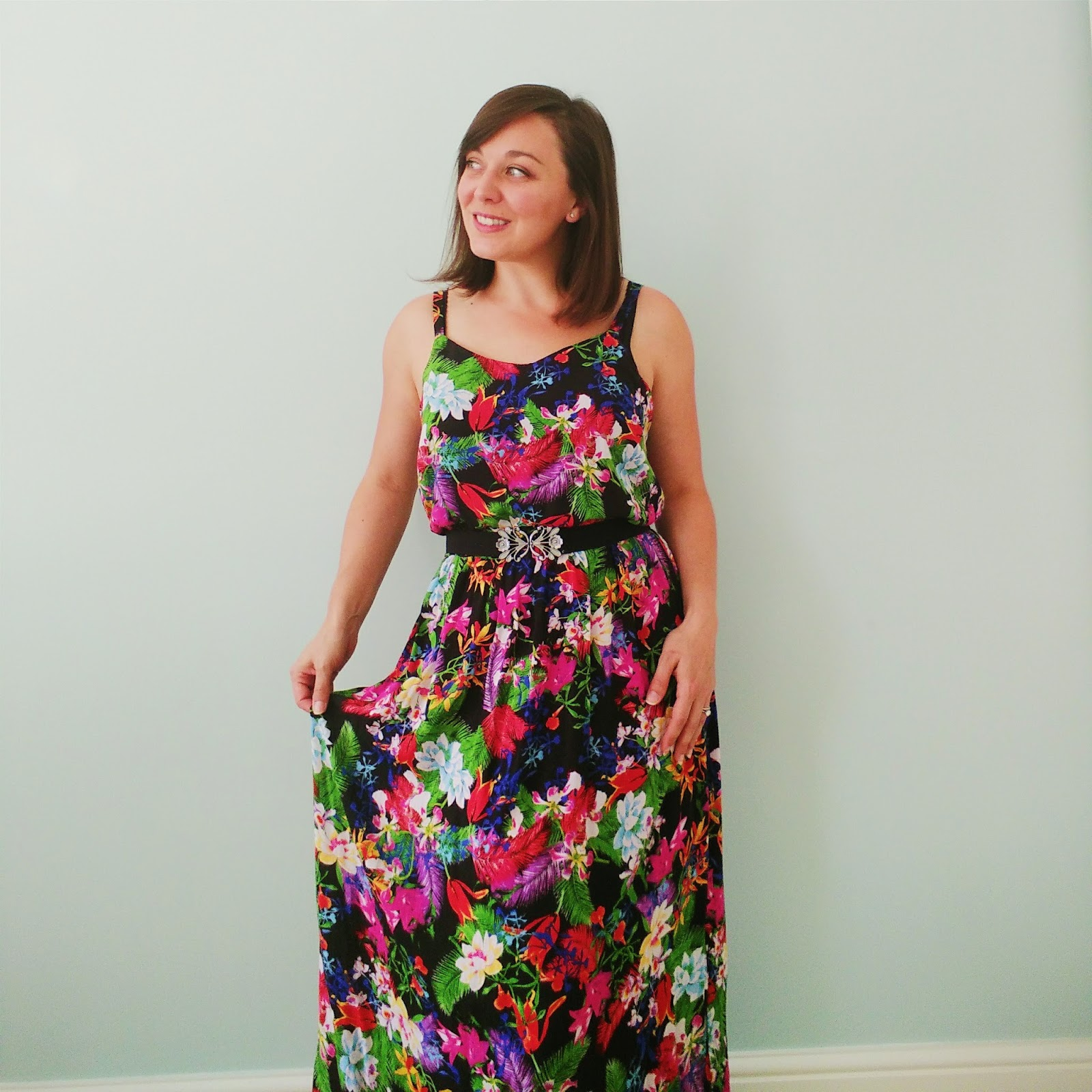 Maxi dress pattern hack