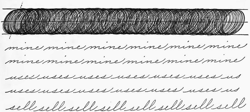 Palmer Handwriting Worksheets Hand Writing