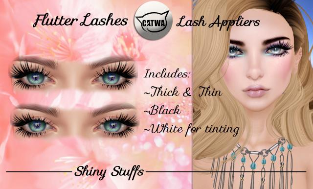 Shiny Stuffs Flutter Lashes
