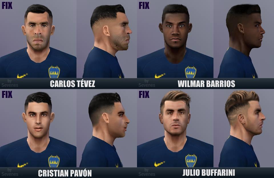 hot sale online 59133 c0adb ultigamerz: PES 6 Boca Juniors Mini Face-Pack 2019 Season