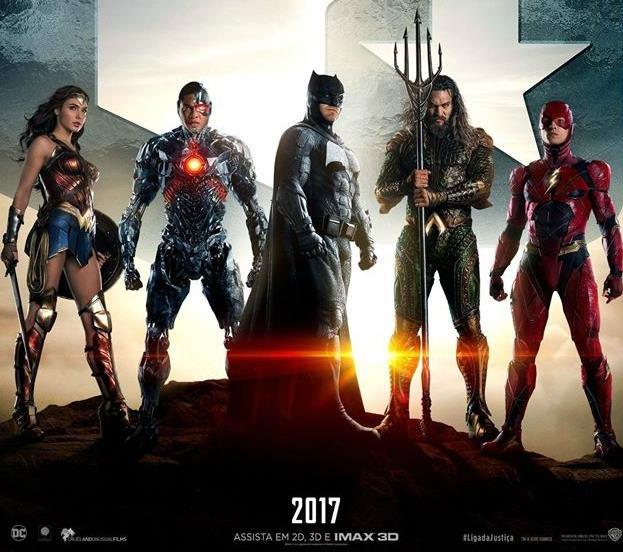Amber Heard Ben Affleck Jason Momoa E Henry Cavill Foto: Os Heróis Da DC Estão De Volta