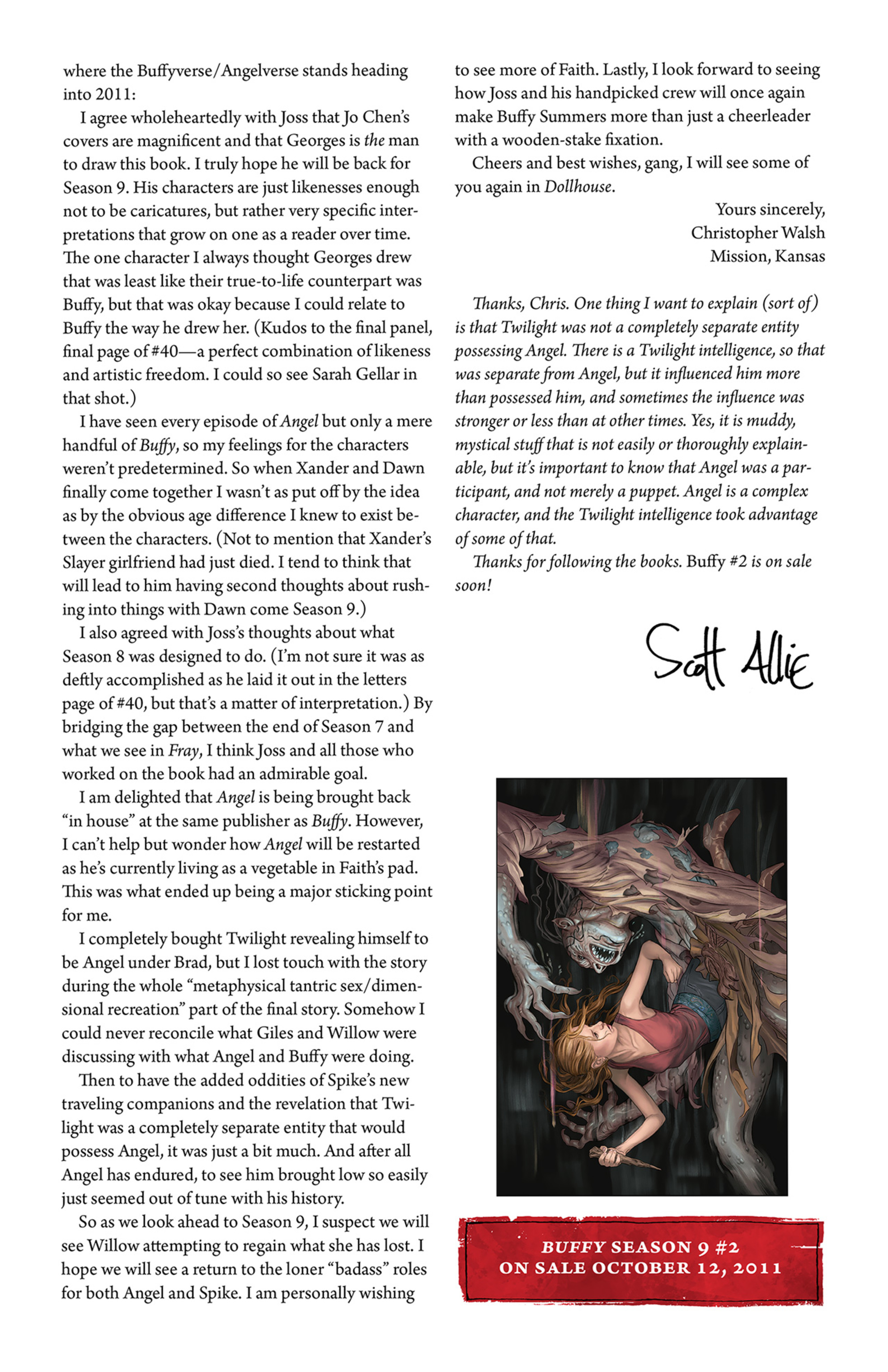 Read online Angel and Faith comic -  Issue #2 - 27