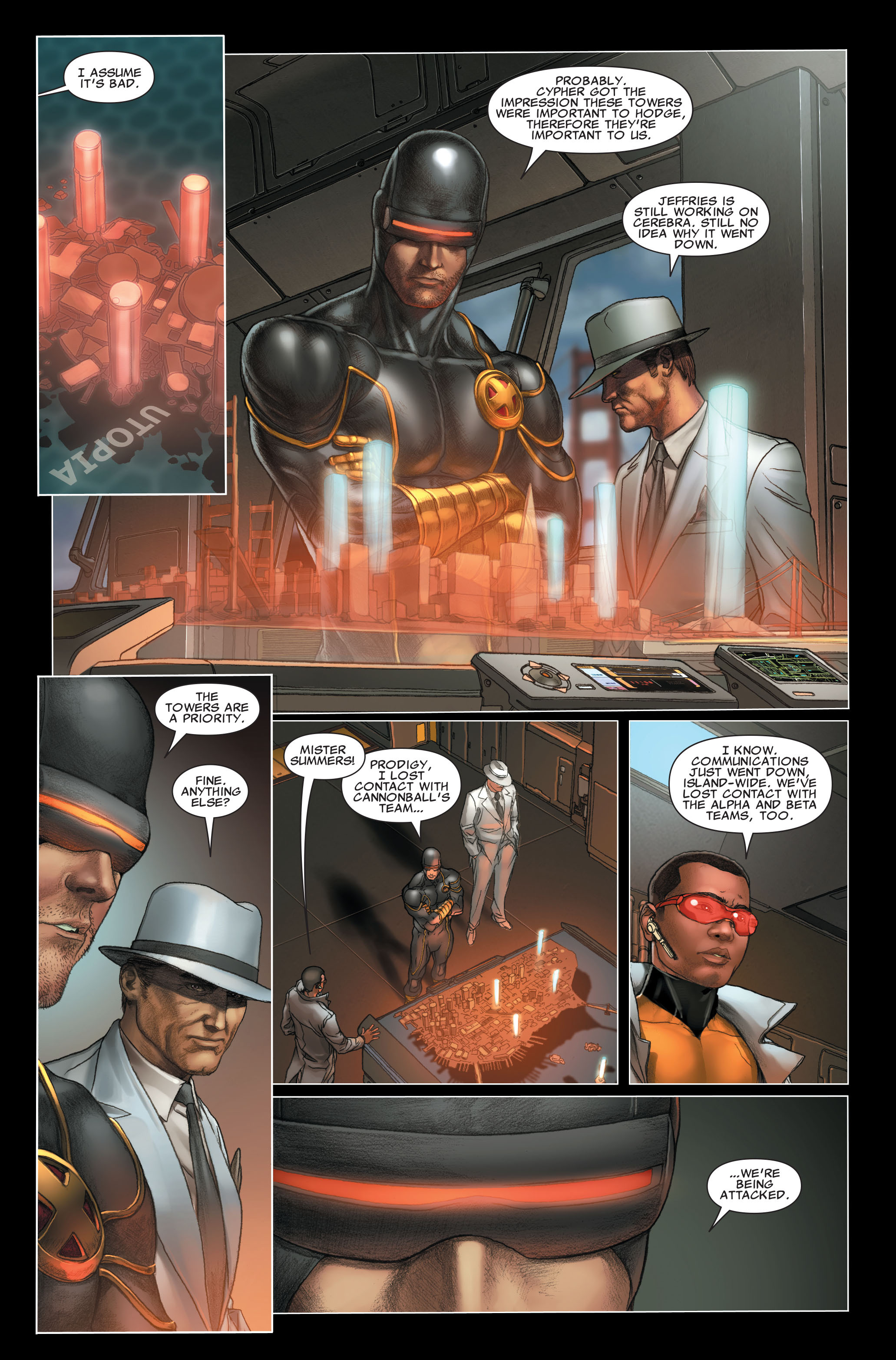 Read online X-Force (2008) comic -  Issue #26 - 7