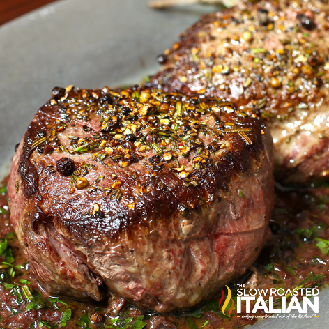 4 Certified Angus Beef Brand Filet Of Sirloin Cut 1 1 4 To 1 1 2 Inches Thick 1 Tablespoon Olive Oil 2 Tablespoons Fine Chopped Fresh Rosemary Divided