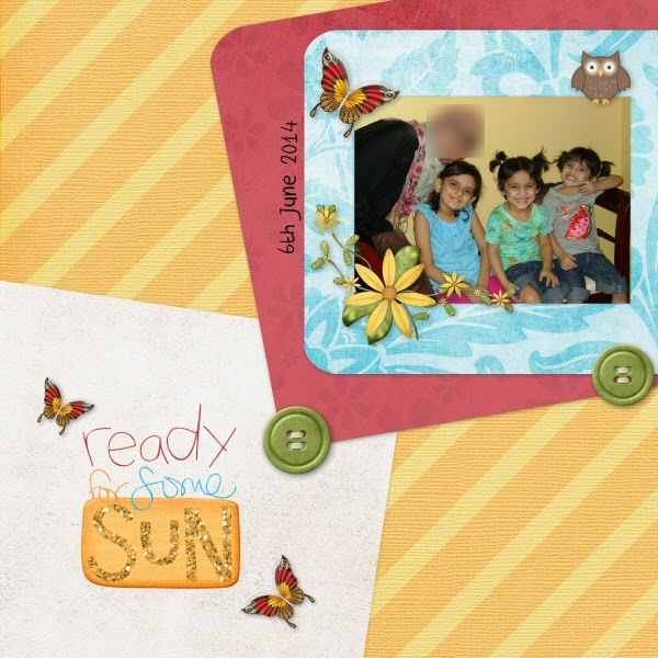 CT Page - Summer Day by Crescent Moon Designs