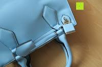 oben: Veevan Damen Elegante Top-Handle Schultertasche Handtaschen (Blau)