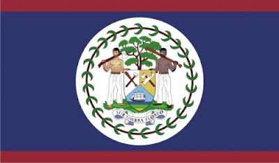 Gambar Bendera Negara Belize