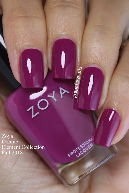 Donnie Zoya Element Collection Fall 2018