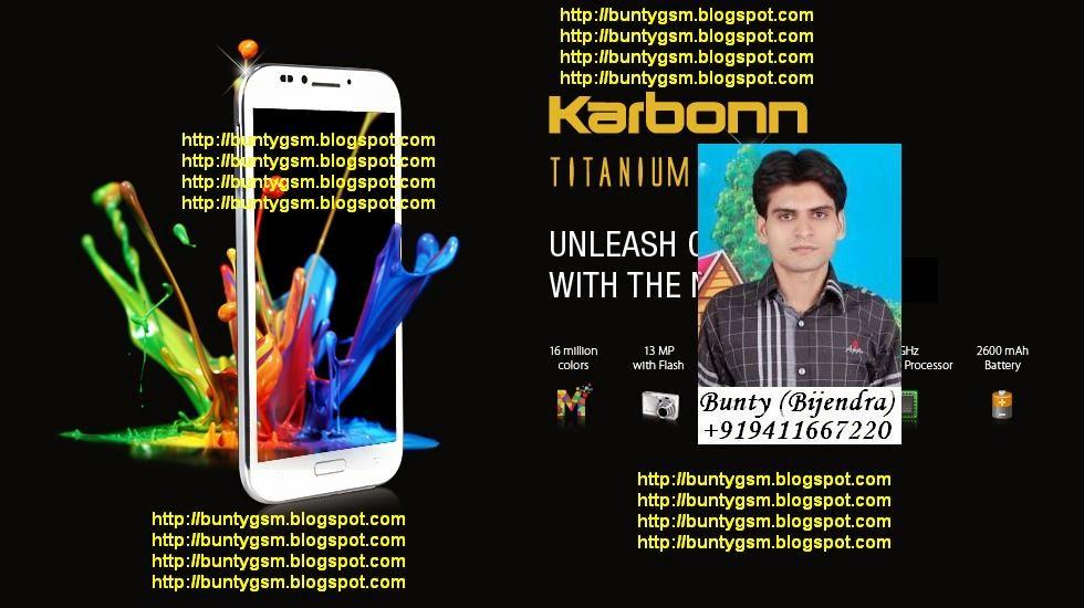 Karbonn A4 Plus Flash File By BuntyGSM Mobile Repairing Institute