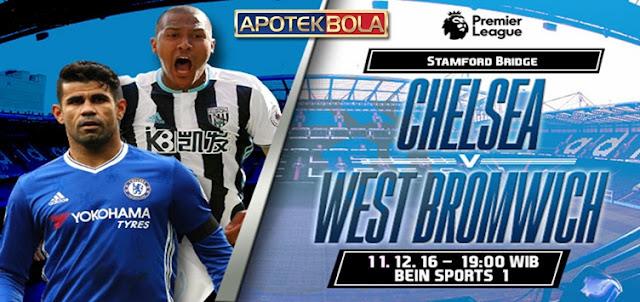 Prediksi Pertandingan Chelsea vs West Brom 11 Desember 2016