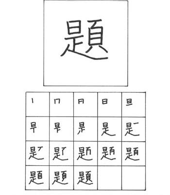 kanji pekerjaan rumah