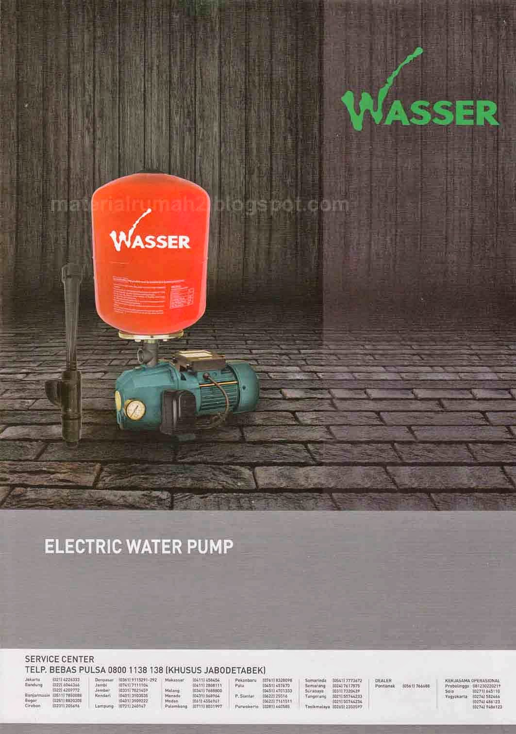 Pompa Air WASSER (Electric Water Pump)