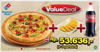 Daftar Harga Menu Domino Pizza Delivery Indonesia 2018