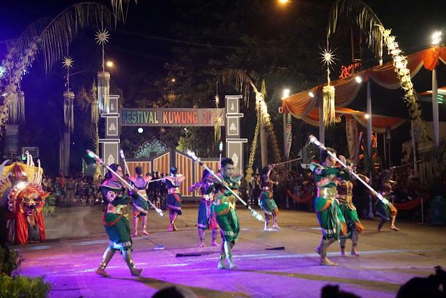 Festival Kuwung, Night carnaval