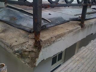 Balkonsanierung Stuck Stahlträger Risssanierung Belz Bonn