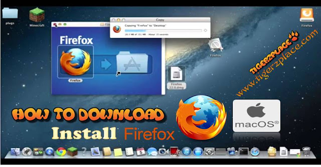 Firefox, Firefox dmg, Firefox For Mac, How to install firefox on mac, mac-softwares, Softwares,