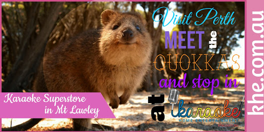 Beaches, shopping, quokkas and karaoke...