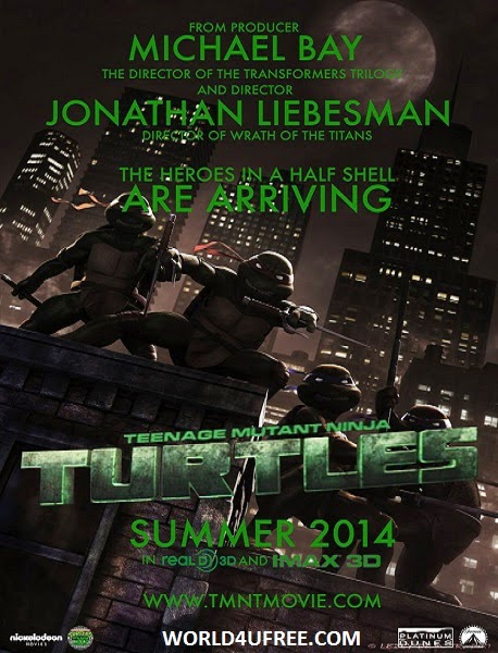 Teenage Mutant Ninja Turtles 2014 Official Trailer HD 720P