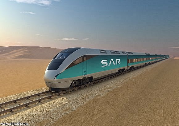Saudi railways train