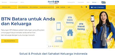 situs website resmi bank btn untuk informasi seputar debitur dan kreditur