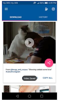 Cara Download Video Instagram Di Android, Begini caranya