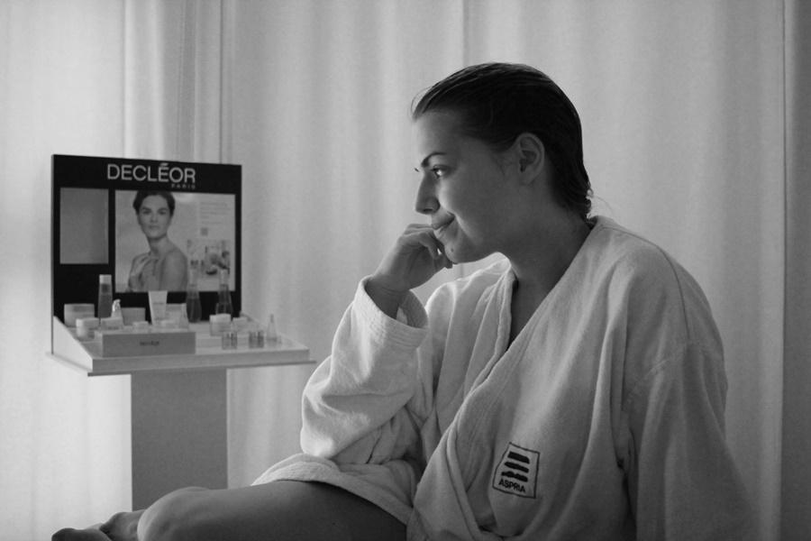 spa bereich aspria massage
