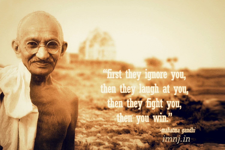gandhi quotes wallpaper - photo #2