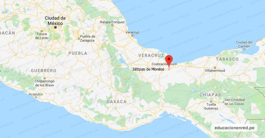Temblor en México de Magnitud 4.2 (Hoy Lunes 31 Agosto 2020) Sismo - Epicentro - Jáltipan de Morelos - Veracruz de Ignacio de la Llave - VER. - SSN - www.ssn.unam.mx
