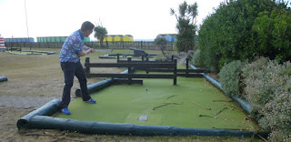 Photo of the Adventure Golf course at Norfolk Gardens in Littlehampton, West Sussex