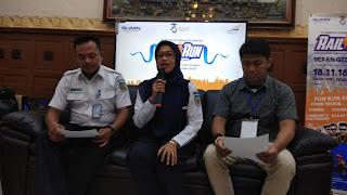 KAI Daop 3 Cirebon Pekan Depan Akan Helat Rail Run